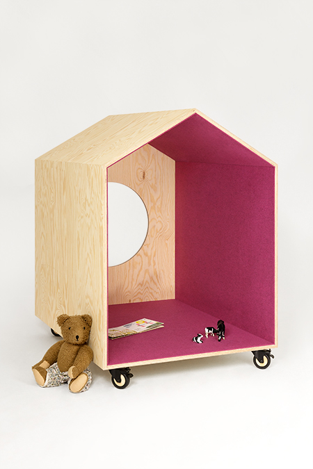 MObile little home by Studio Mikutta via designperbambini.it