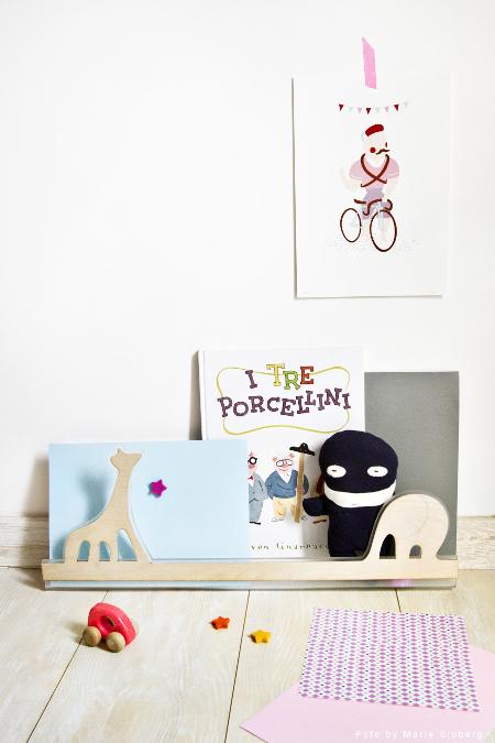 Lina menso-lina per bambini disegnata da Valentina Beato