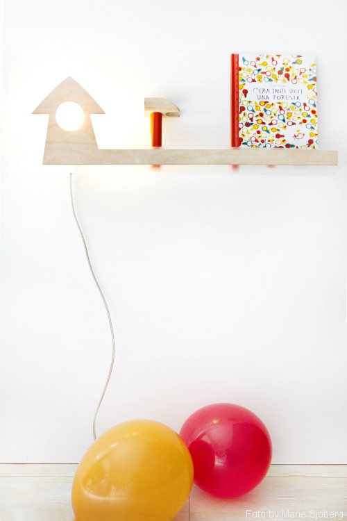 Lina front facing bookshelf by designperbambini.it