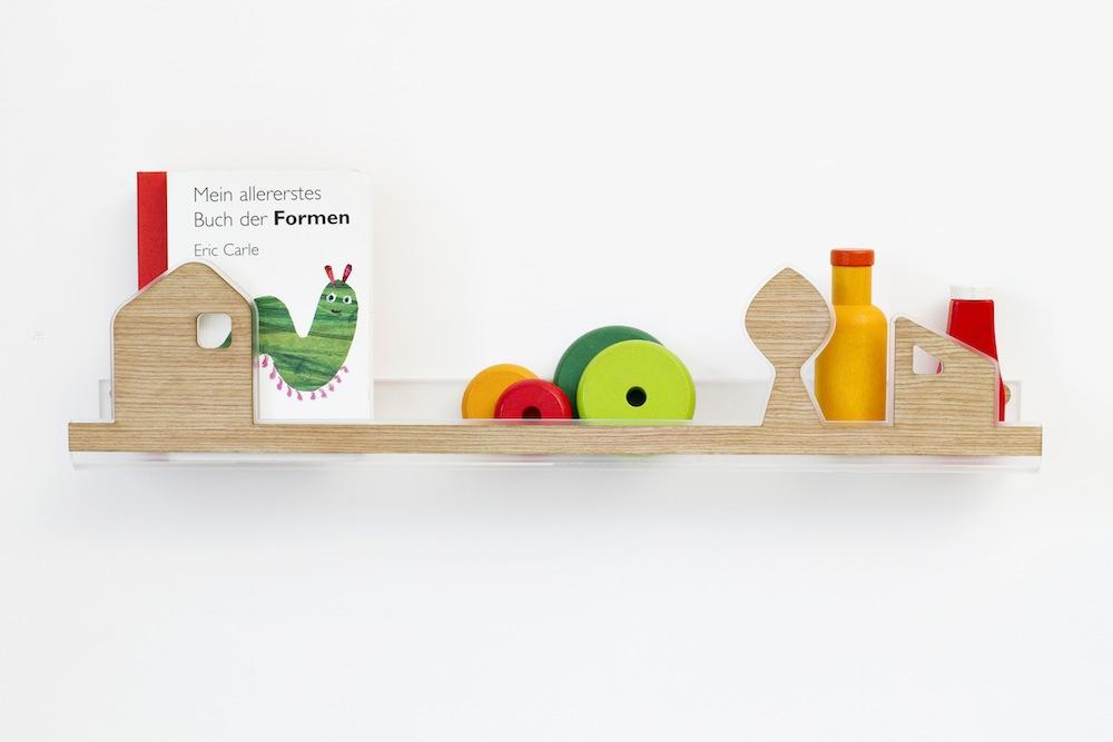 Lina mensolina per bambini via designperbambini.it