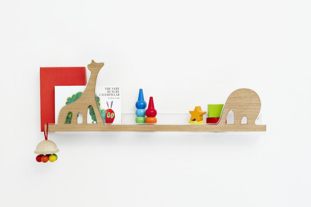 Lina mensolina per bambini by designperbambini.it