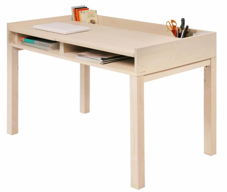 Non Jetable wooden desk via designperbambini.it