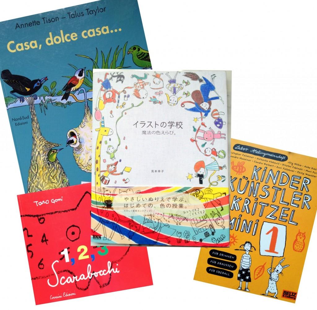 Activity books selection by designperbambini.it